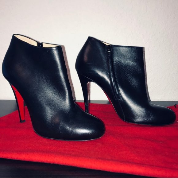 cb247a67cb13 Christian Louboutin Shoes - ❤️OPEN TO OFFERS❤️Belle 100 Black Leather  Booties